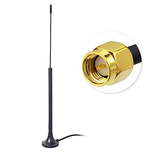 wlaniot Novatel Verizon 4G LTE Antenna (3dbi 800MHz 900MHz SMA Connector) Magnetic Antenna 9.8ft Extension Cable for Mobile Hotspot MiFi External Antenna Signal Booster Modem Router