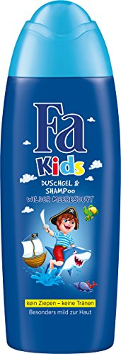 Fa Kids Duschgel & Shampoo Kids Pirat Wilder Meeresduft, 250 ml