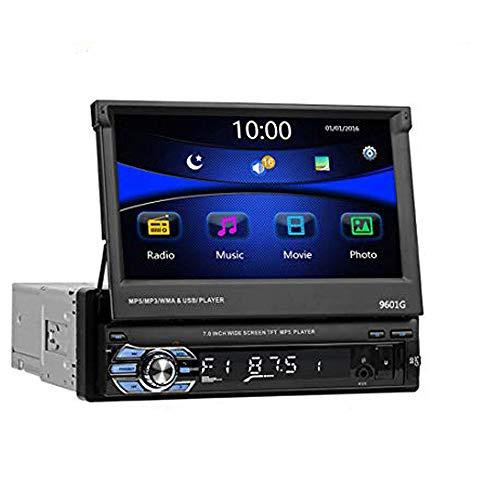 LUOAN AUTO PARTS Autoradio 9601G + 8G Map Touch Screen Autoradio 96 FM Radio FM FM Universale da 7 Pollici con Radio GPS Contiene GPS