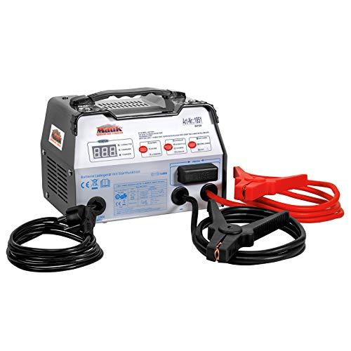 Mauk KFZ-Batterieladegerät 6/12V mit Starthilfe- und Schnellladefunktion