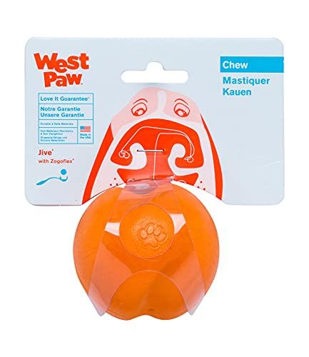 Zogoflex Jive, Palla Giocattolo per Cani, con Design West Paw