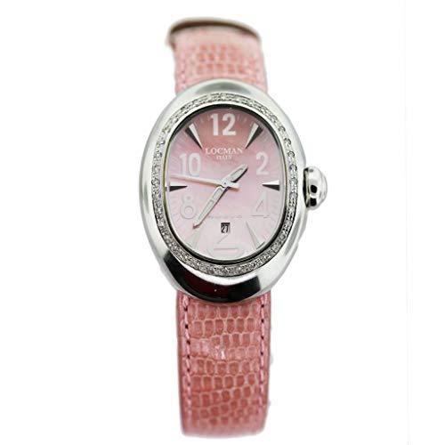Locman Nuovo 028MOPPKD Diamond - Reloj de pulsera para mujer