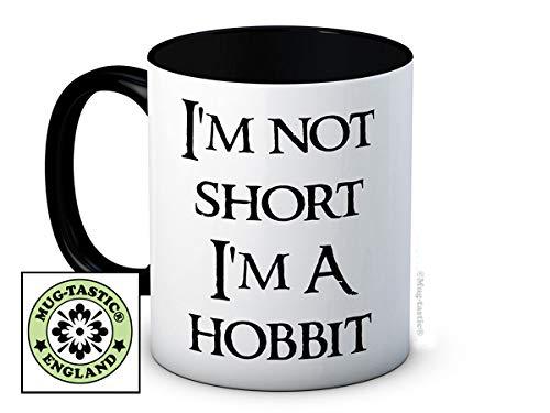 I'm Not Short I'm a Hobbit - Lustig Hochwertigen Kaffeetasse Becher