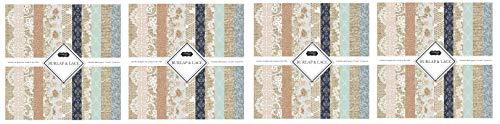 Scrapbook Customs Themed Paper Scrapbook Kit, Burlap & Lace |
