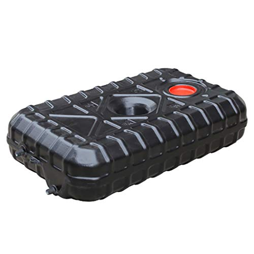 Bidon Plastico 80 Litros, Contenedor de Agua Solar Negro, Barril de Almacenamiento de Agua, Utilizado para Bañarse en Verano o Almacenar Agua Potable para Cortes de Energía o Recorridos Sin Conducto
