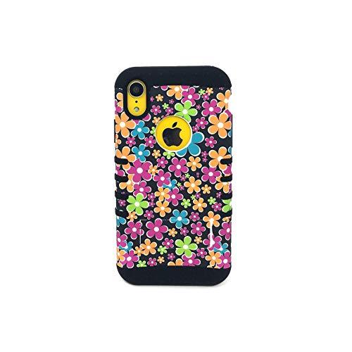 KOOL KASE Spring Bird Rocker Snap On Case for iPhone XR (Black)