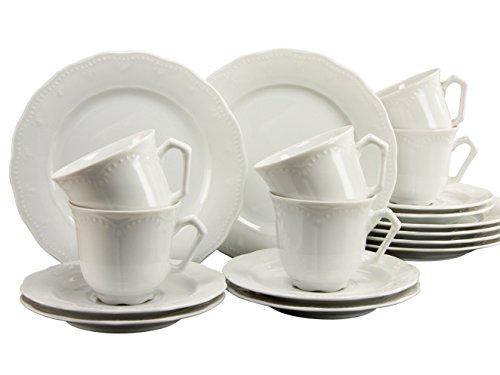 CreaTable 11797, Serie Gloria, Geschirrset Kaffeeservice 18 teilig
