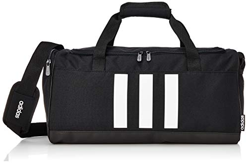 adidas 3S S Duf, Sac de Sport Homme, Black/Black/White, One Size