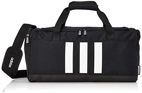 adidas 3s Duf S Gym Bag, Unisex Adulto, Black/Black/White, NS