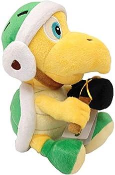 Seupeak Hammer Bro Super Mario Bros Koopa Troopa Turtle Plush Toy Stuffed Animal 8 Inches
