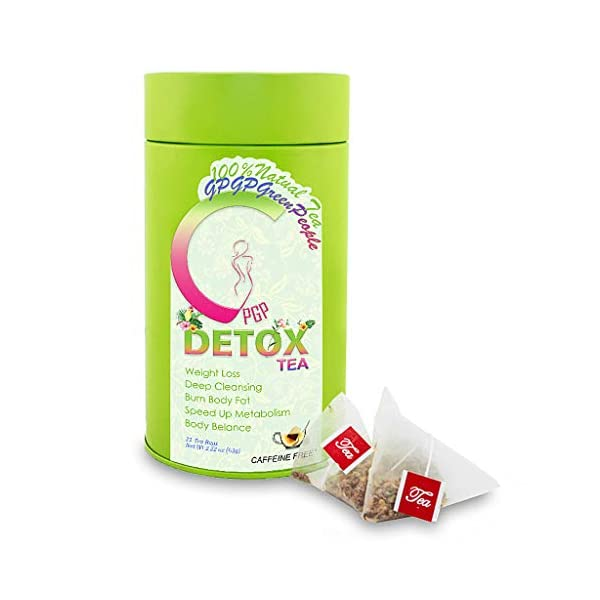 Detox products Detox Tea Diet Tea for Body Cleanse – 28 Day Weight Loss