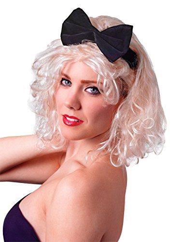 Bristol Novelty Novelty-BW674 BW674 Perruque Cheveux Courts, Blond, Femme, Beige, taille unique