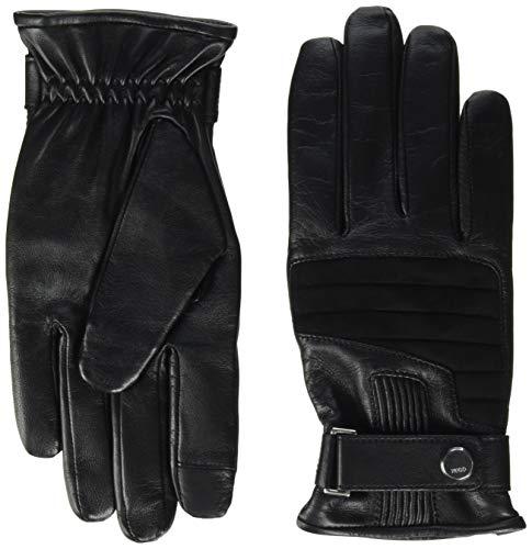 HUGO Mens HLG 142 Cold Weather Gloves, Black (1), 8.5