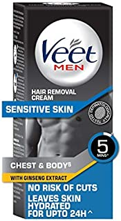 Veet Hair Removal Cream for Men, Sensitive Skin - 100g