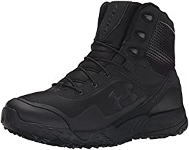 Under Armour Men's Valsetz RTS Military and Tactical Boot, Black (001)/Black, 12.5