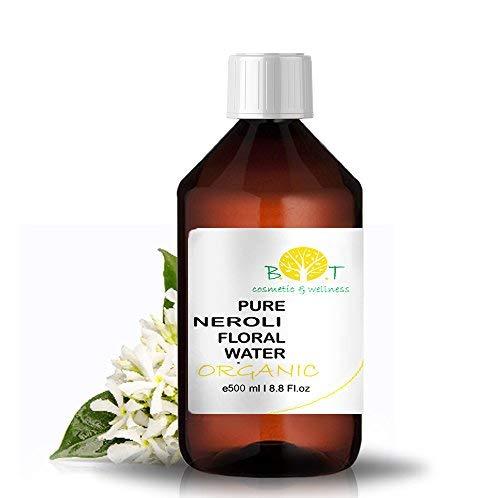 Agua de Flor de Naranjo Hidrolato de Neroli Ecológico Agua Floral BIO Piel Sensible/Madura (500 ml)