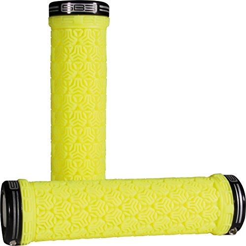 SB3Logo Grip Par de Asas de Bicicleta Unisex, Color Amarillo neón/Negro