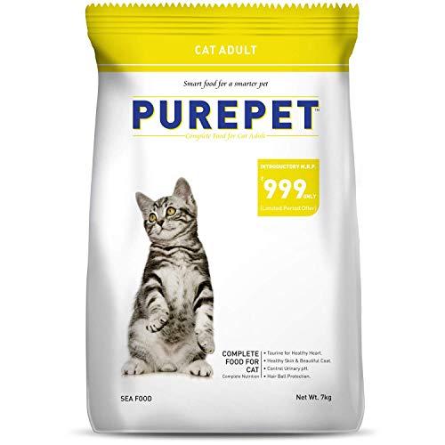 PurePet Sea Food Cat Adult 7 Kg.