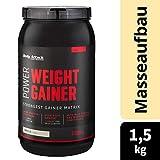 Body Attack Power Weight Gainer, Vanille, 1,5 kg, 100% Masseaufbau, Kohlenhydrat-Eiweißpulver zum...