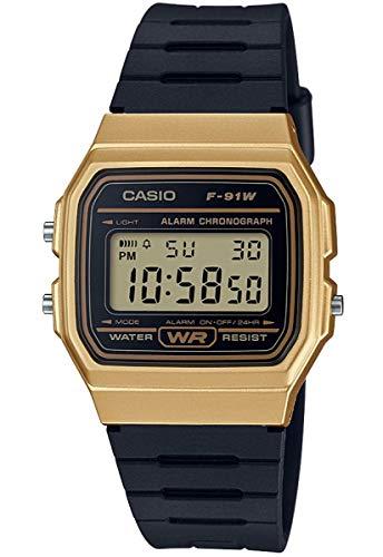 Casio Reloj Digital para Unisex de Cuarzo con Correa en Resina F-91WM-