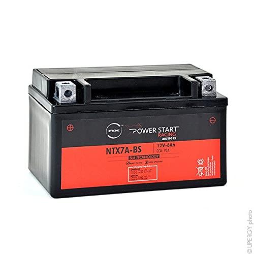 NX - Batería Moto YTX7A-BS / NTX7A-BS 12V 6Ah