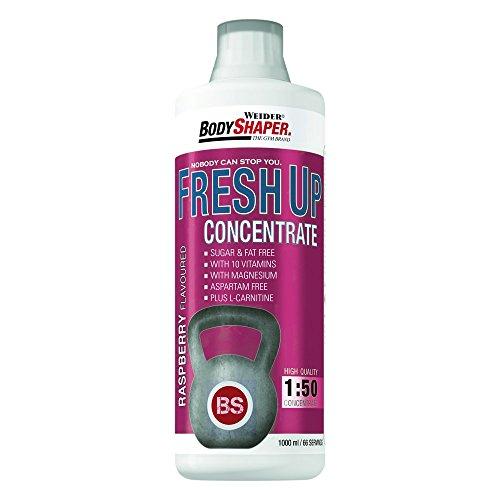 Weider BodyShaper Fresh Up Konzentrat 1 Liter Himbeere+L-Carnitine