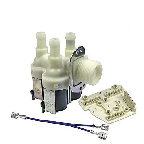 Ventil Waschmaschine Miele Magnetventil 3-fach 90 ° 10,5 mm Miele 1678012 1678013 1881620