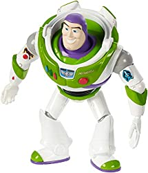 Disney pixar toy story 4 buzz lightyear figure Has ideal designs and costume Is highly posable for authentic storytelling play Choose the full variety of characters for more movie adventures (each sold separately, subject to availability) For ages 3 ...