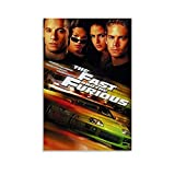 XFVS Movie Poster The Fast and The Furious R Canvas Art