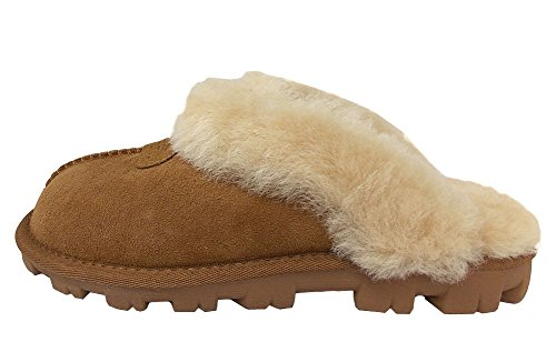 UGG Female Coquette Slipper, Chestnut, 7 (UK)