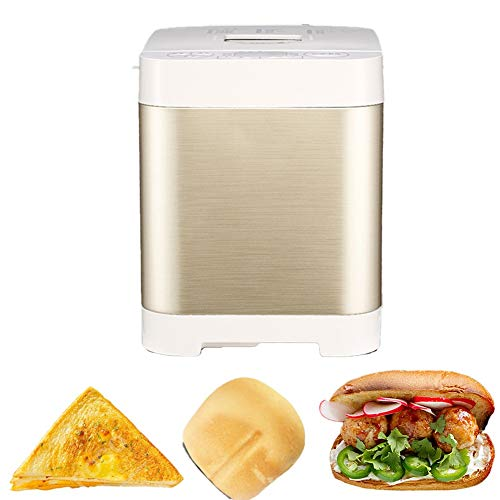 Review Of MRMRMNR Multifunctional Breadmaker, Home Bread Maker 18 Functions, Insulation Settings, Au...