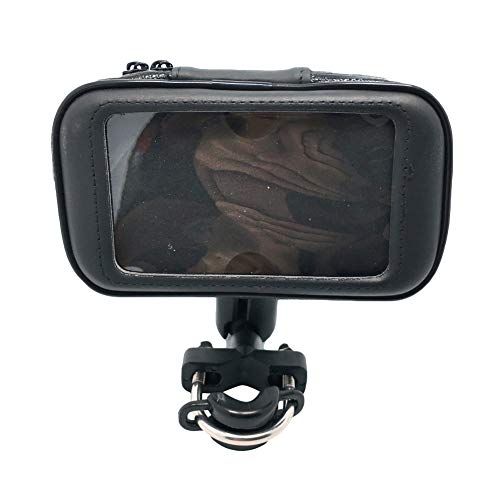Ardorlove Bike Phone Mount - 360 draaibaar stuur - GPS beugel - PVC Touch Screen Bike Phone Mount Support - Waterdichte Moto Bag Case