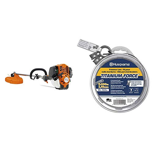 Buy Cheap Husqvarna 324L 17 in. String Trimmer with 50 ft. Donut .095 String Trimmer Line Bundle