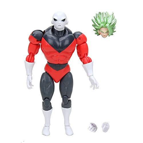 Dragon Ball Super Dragon Stars Jiren Figura de acción Wave 5 Chikara no Taikai Modelo Coleccionable Toy Change Face