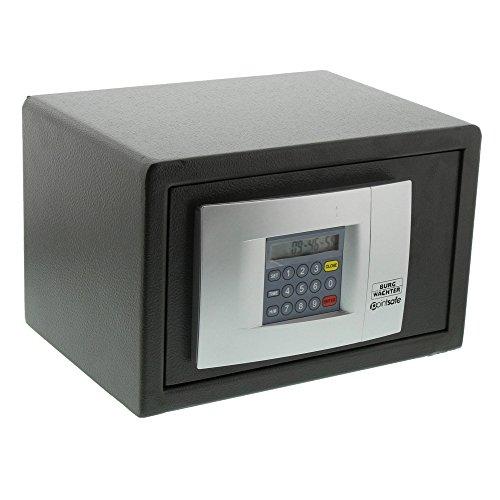 BURG-WÄCHTER Möbeltresor mit elektronischem Zahlenschloss, Point-Safe, 6,7 l, 8,0 kg, P 1 E, Schwarz