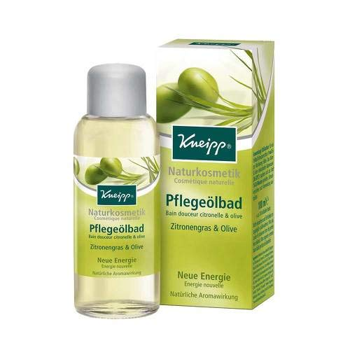 KNEIPP PFLEGEÖLBAD Zitronengras & Olive 100 ml