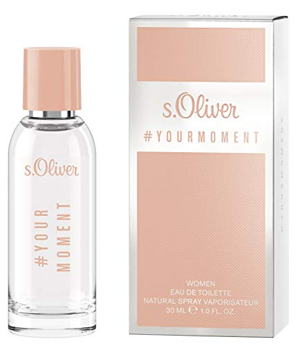 s.Oliver® Your Moment Women I Eau de Toilette - femininer, fruchtiger Duft zum Wohlfühlen I 30ml Natural Spray Vaporisateur