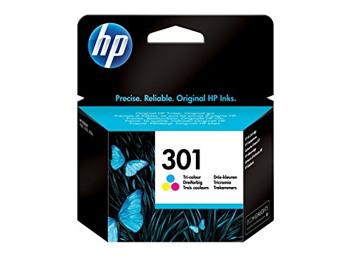 HP OfficeJet 2620 - Original HP CH562EE / 301 - Cartouche d'encre Couleur (C,M,Y) -