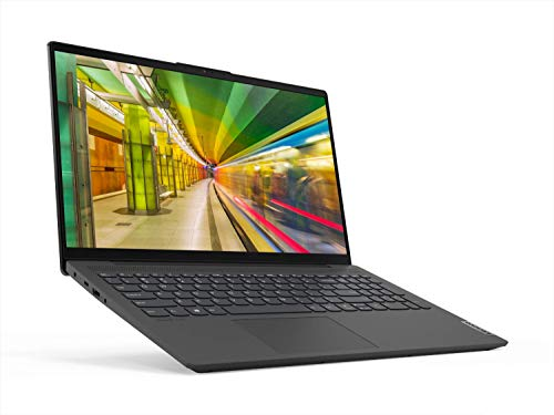 "Lenovo IdeaPad 5 - Ordenador Portátil 15.6"" FullHD (Intel Core i7-1065G7, 8GB RAM, 512GB SSD, Intel Iris Plus Graphics, Windows10) Gris - Teclado QWERTY español"