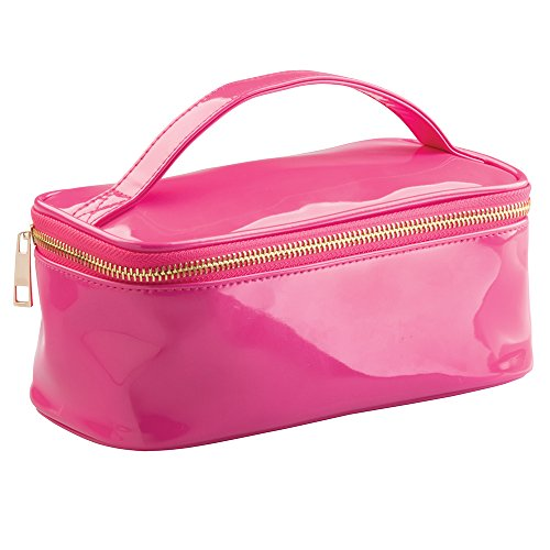 Remy Cosmetic Tote Bag for Makeup, Hair Accessories, Lotion - Medium, Pink