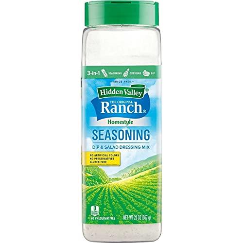 Hidden Valley The Original Ranch - Mezclador para salsa, condimentos y ensaladas (20 onzas) multiusos sin conservantes