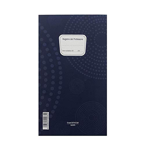 SCUOLA - REGISTRO DEL PROFESSORE 3 CLASSI - F.TO 31X17 CM - 36 pagine