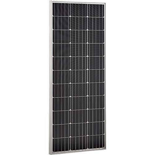 ECTIVE 100W Solar Modul Monokristallin 12V Solarzelle Modul für Photovoltaik in 6 Varianten 50-160 Watt
