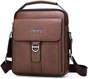 Jeep Bag For Unisex,Coffee - Shoulder Bags - 2724795935993