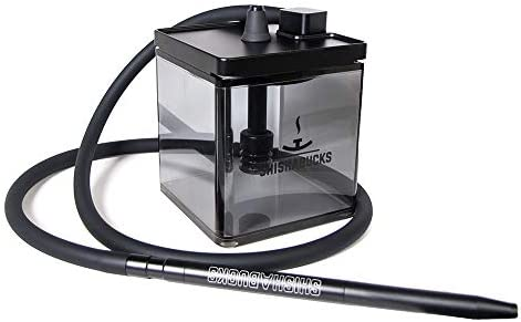 Cloud|Micro Modern Hookah with a Bag - Modern and Portable (Green)