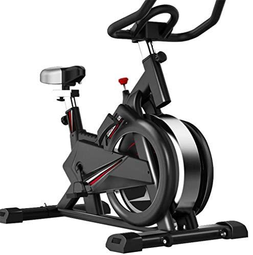 MJ-Sports Manuell Einstellbarer Widerstand für Fahrradtrainer 15 kg Schwungrad mit mobiler App Simuliert Live-Fahrten Cardio-Training mit Multifunktionsdisplay der Konsole