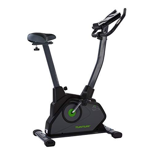 Tunturi Cardio Fit E35 Ergometer heimtrainer fahrrad  / Fitnessfahrrad / Fahrradergometer / Hometrainer fahrrad trainer + Handpulssensoren + Tablethalterung + Magnetbremssystem + Bildschirmanzeige