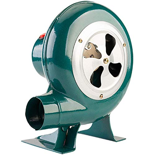 CFYP Ventilador de Barbacoa, Sopladores Pequeños, Fuelle Chimenea de 220 V, Ventilador...