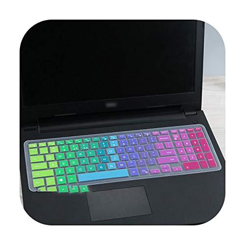 Silikon-Schutzhülle für Laptop mit 39,6 cm (15,6 Zoll) für DELL Latitude 3500 3550 3560 3570 3580 3590 Pc Laptop-Rainbow-