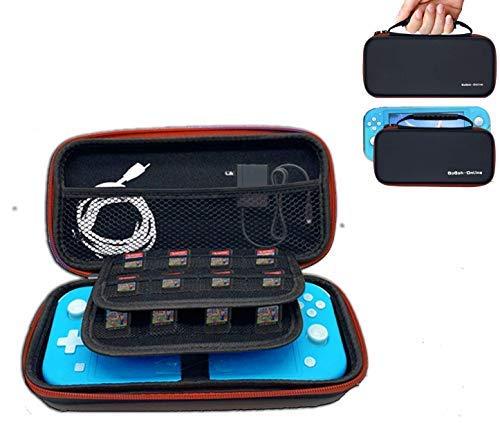 Funda para Nintendo Switch Lite,Bolsa para Nintendo Switch Lite y Accesorios Funda de Viaje con más Espacio de Almacenamiento de 16 Juegos para Nintendo Switch Lite